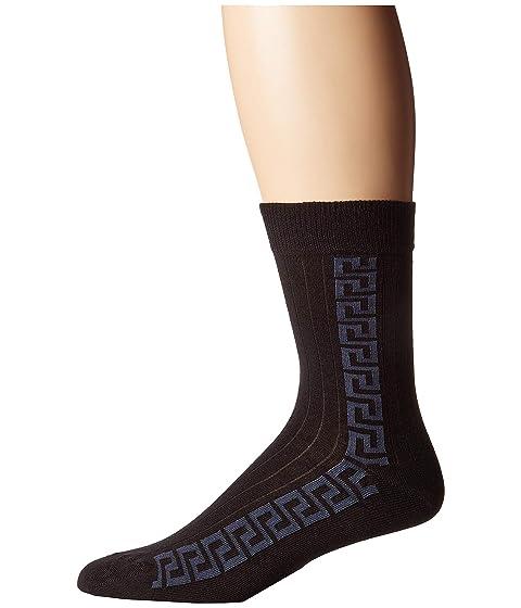 Versace Greca Key Strip Sock