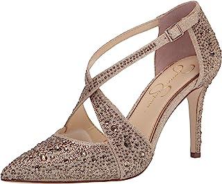 Jessica Simpson حذاء Accile Pump, Champagne 8 US