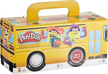 Play Doh - Pack 20 Botes (Hasbro A7924EU6)