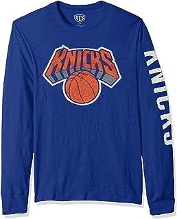NBA Men's OTS Slub Long Sleeve Team Name Tee