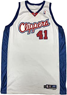 9c50b55fc Glen Rice Game Worn 2003-2004 Used Jersey LOA - Los Angeles Clippers - NBA