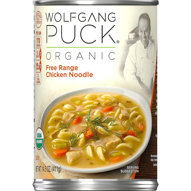Wolfgang Puck Organic Free Range Las Vegas Mall Chicken Soup Noodle 14.5 oz. C Max 72% OFF