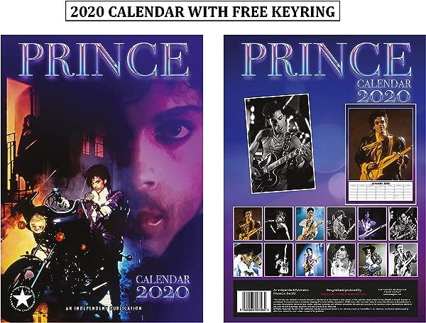 Prince Unofficial Calendar 2020 Prince Keychain