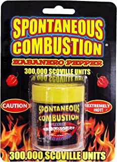 Spontaneous Combustion Habanero Pepper - Ultimate Pepper Gift - Try if you dare!… …