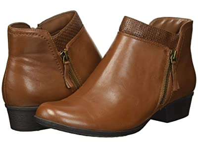 Rockport Carly Bootie (Tan) Women