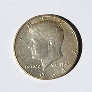 1964 United States of America Kennedy Half Dollar (Silver 90%) #1 Coin Very Good Details