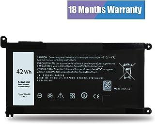 Emaks WDX0R باتری T2JX4 برای Dell Inspiron 13-5000 13-7000 15-5000 15-7000 17-5000 سری: 13 5368 5378 5379 7368 7378/14 7460/15 5538 5566 5567 5568 5570 5578 7560 7570 7569 5770 7579/17 5765