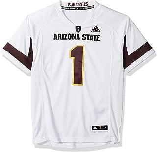 adidas Arizona State Sun Devils NCAA Men's #1 White Premier Football Jersey