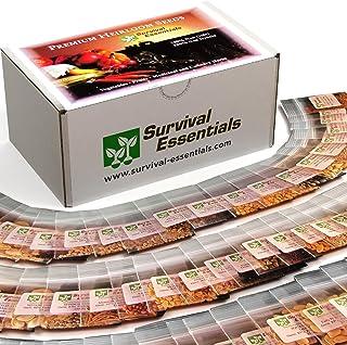 Survival Essentials 100 Variety Premium Heirloom Non Hybrid Non GMO Seed Bank – 17,880+ Seeds - All In One Super Value Pak...