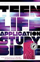 NLT Teen Life Application Study Bible, Index (LeatherLike, Pink, Indexed)