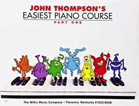 John Thompson's Easiest Piano Course, Part One [With CD/DVD] by John Thompson (1-May-2009) Paperback