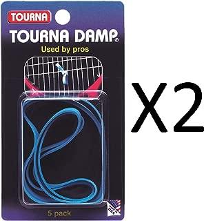 Unique Tourna Tennis String Vibration Dampener-Shock Absorber-5 Pack (2-Pack)