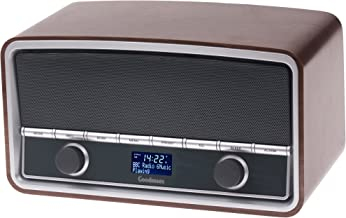 Goodmans GSR1889DABBTW Heritage Retro Radio with Bluetooth - Wood Finish