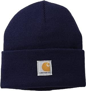 baby boy blue pom pom hat