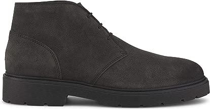 Tommy Hilfiger Men's Suede Desert Boots Gray
