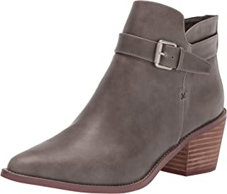 Report Women's Casual, Bootie Ankle Boot, Olive, 8.5