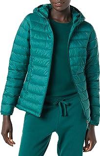 Amazon Essentials Donna Piumino con cappuccio impermeabile a maniche lunghe leggero