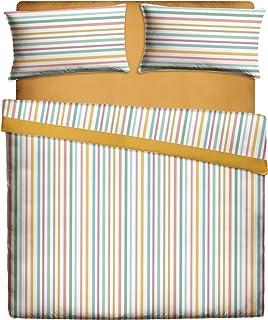 Casa Lieri - Juego de sábanas de 135, Algodón, 50% Poliéster, Crudo. Cama 135 (Todas las medidas)