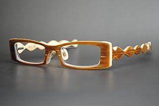 竹製めがねフレーム S-947F(DOKUSOU TIKUHOU)【ルーツ】【鯖江産】【木のめがね】【竹めがね】【Bamboo Eyewear】【木製眼鏡】【天然素材】【アレルギー】