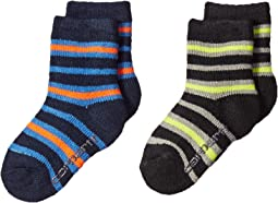 Crew Socks with Grippers 2-Pair (Infant/Toddler/Little Kid)