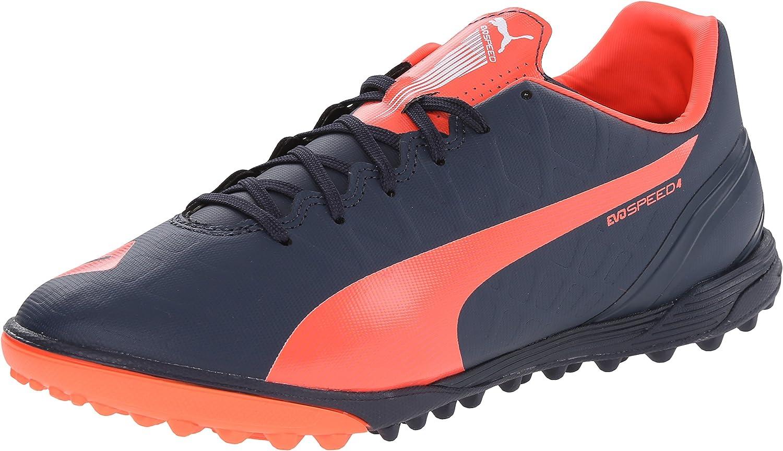 PUMA Men's Evospeed 4.4 Turf Soccer Shoe
