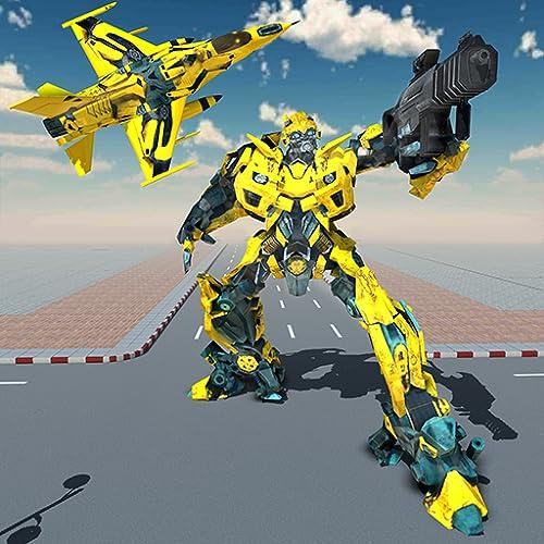 Air Robot Plane Transformation Game 2020