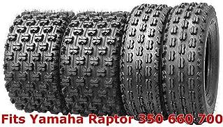 Set 4 WANDA GNCC Racing Tires 21x7-10 & 20x10-9 fit for Yamaha Raptor 350 660 700