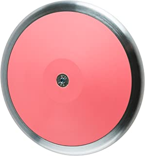 Eastern Atlantic New- Pink Competition Track and Field 1 Kilo High School Discus (3 Year Warranty Included)