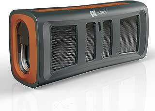 Proxelle Surgeblast Mini Waterproof Bluetooth Stereo Speakers, Orange