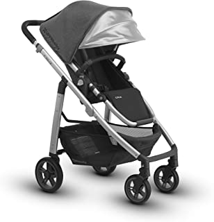 2018 UPPAbaby Cruz Stroller -Jordan (Charcoal Melange/Silver/Black Leather)