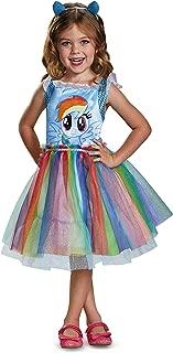 Rainbow Dash Movie Toddler Classic Costume, Blue, Medium (3T-4T)