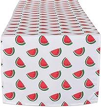 مفرش منضدة DII Watermelon للاستخدام الخارجي من مجموعة أدوات المائدة مقاومة للبقع ومقاومة للماء، مقاس 14×108