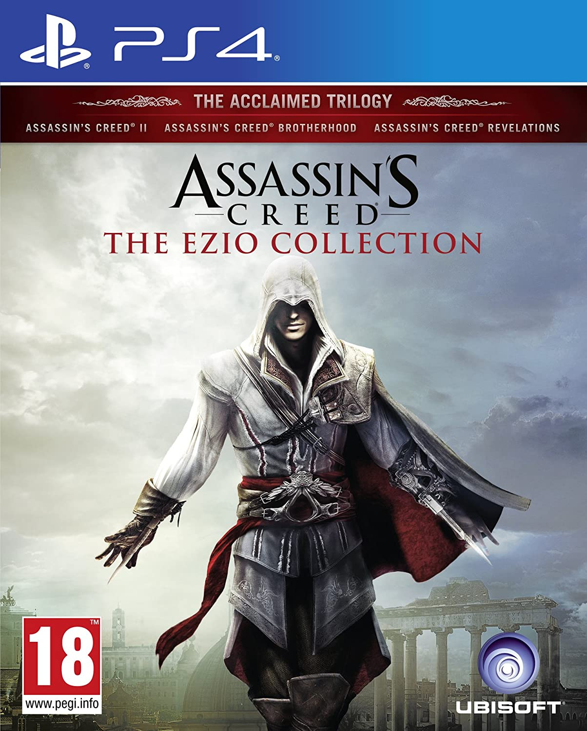 Assassins Brand new Creed The Collection PS4 Limited time sale Ezio