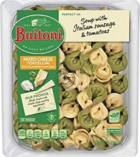 BUITONI Mixed Cheese Tortellini Refrigerated Pasta 20 oz. Family Pack