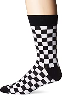 checkered flag socks