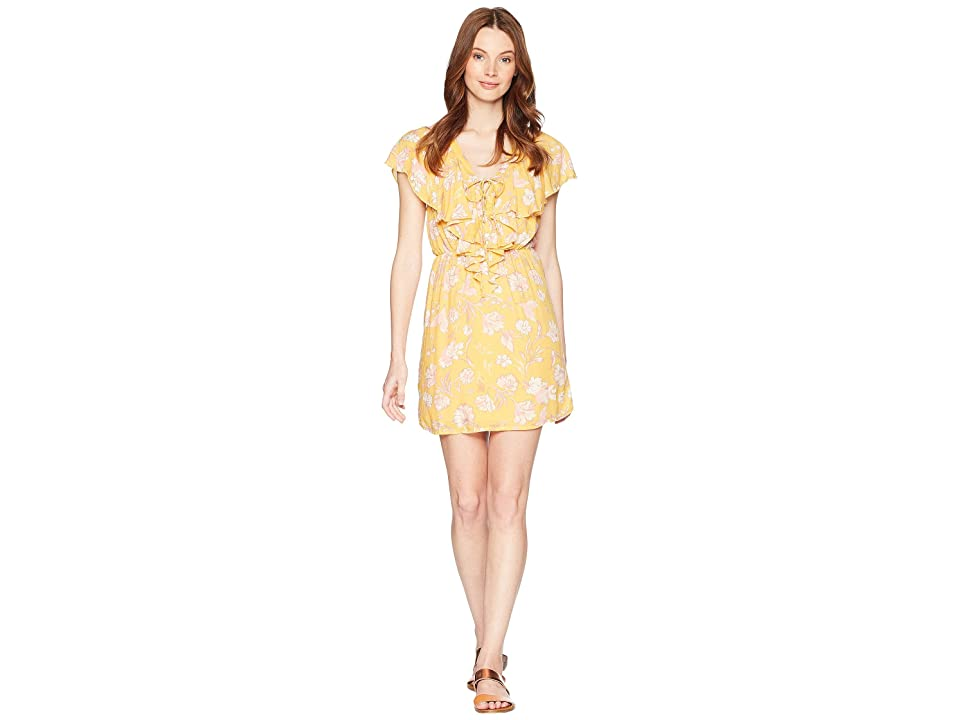 Amuse Society Play Nice Dress (Honey) Women