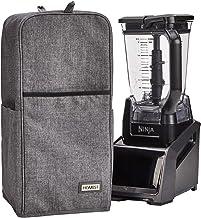 Homest - Funda para batidora con bolsillo para accesorios compatible con Ninja Foodi, color gris (pendiente de patente)