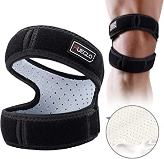 Patella Knee Strap for Running,Knee Stabilizing Brace Support for Tendonitis,Osgood schlatter,Arthritis, Meniscus, Tear,Runners,Chondromalacia,Injury Recovery,Sports,12