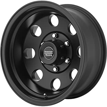 "American Racing Custom Wheels AR172 Baja Satin Black Wheel (15x7""/5x114.3mm, -6mm offset)"