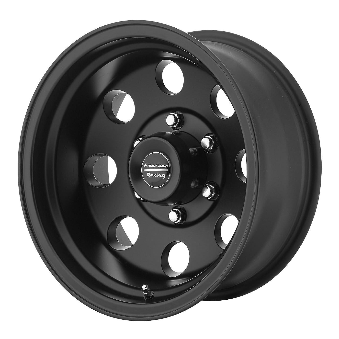 American Racing Custom Wheels AR172 Baja Satin Black Wheel (17x8