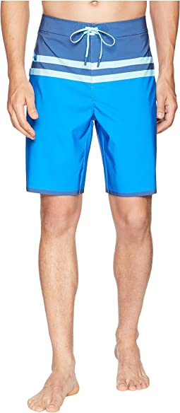 Bay Ridge Stripe Tech Boardshorts