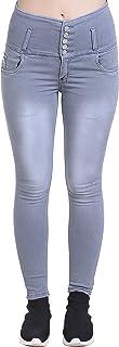 Raiter Women's Cotton Skinny Jeans
