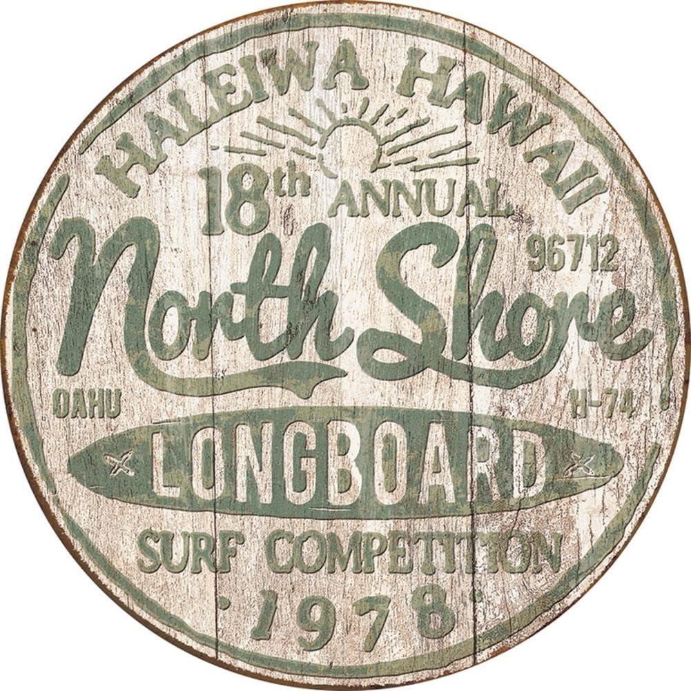 North Shore Brand Cheap Sale Venue Surf Tin 12in Sign x Philadelphia Mall 12