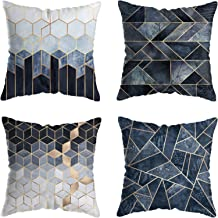 Pillow Covers 18x18 inch for Home Decor Set of 4 Throw Pillow Covers Square Cushion Case for Sofa Couch Home Decoration - ...