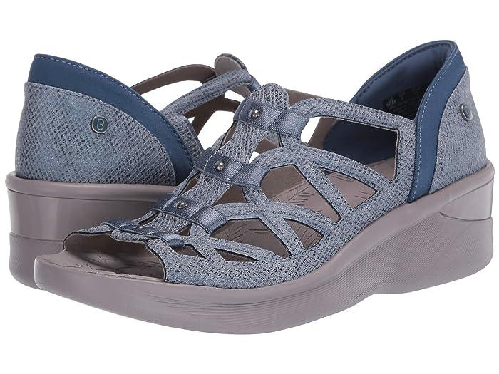 Bzees  Sasha (Dark Blue Metallic) Womens Sandals