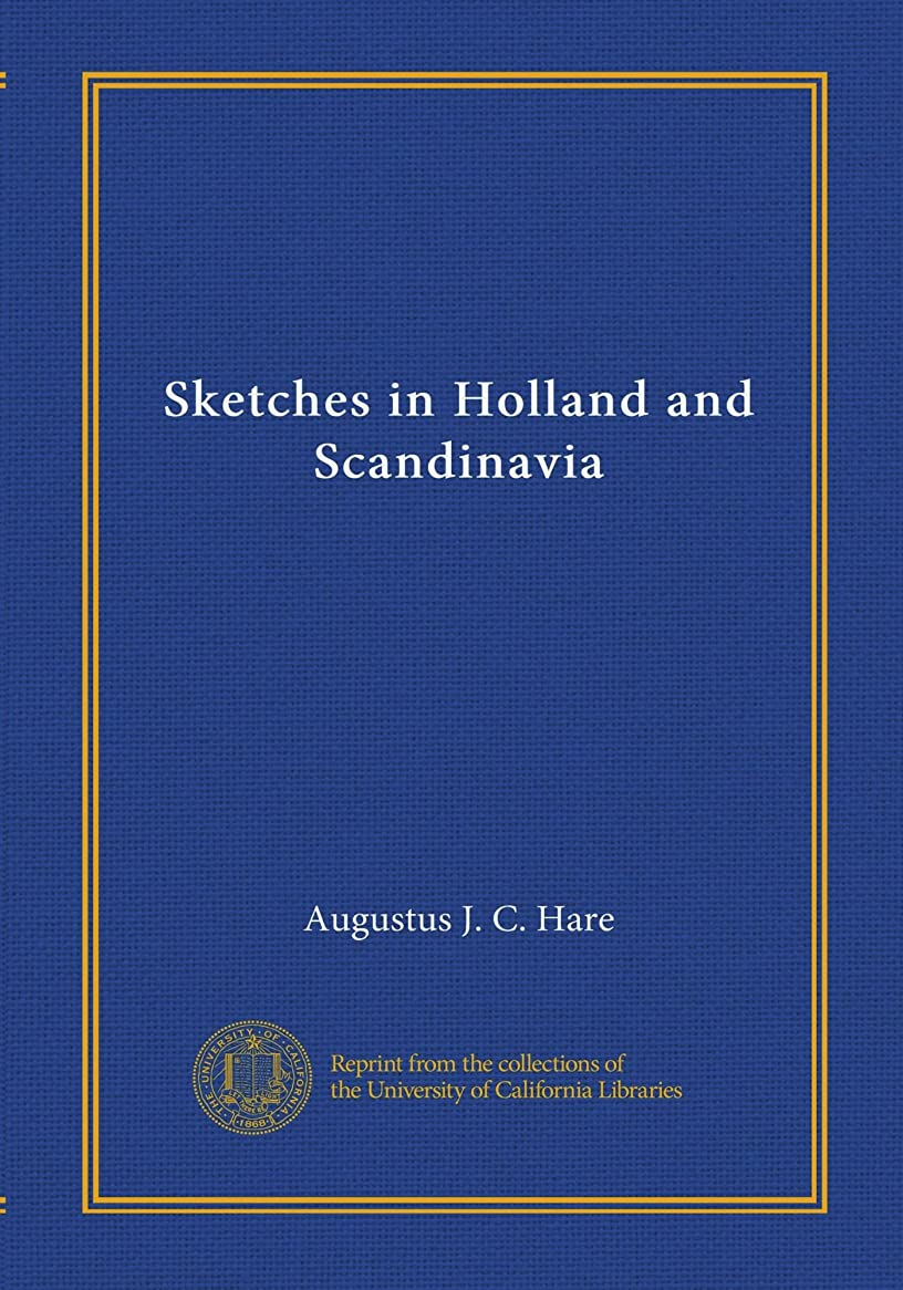 トロリー突撃厚いSketches in Holland and Scandinavia