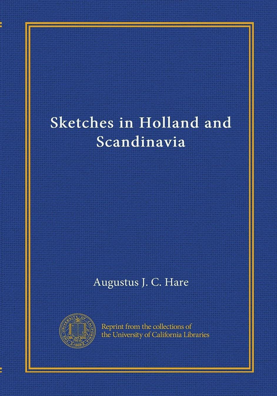 燃やす場所ファイナンスSketches in Holland and Scandinavia