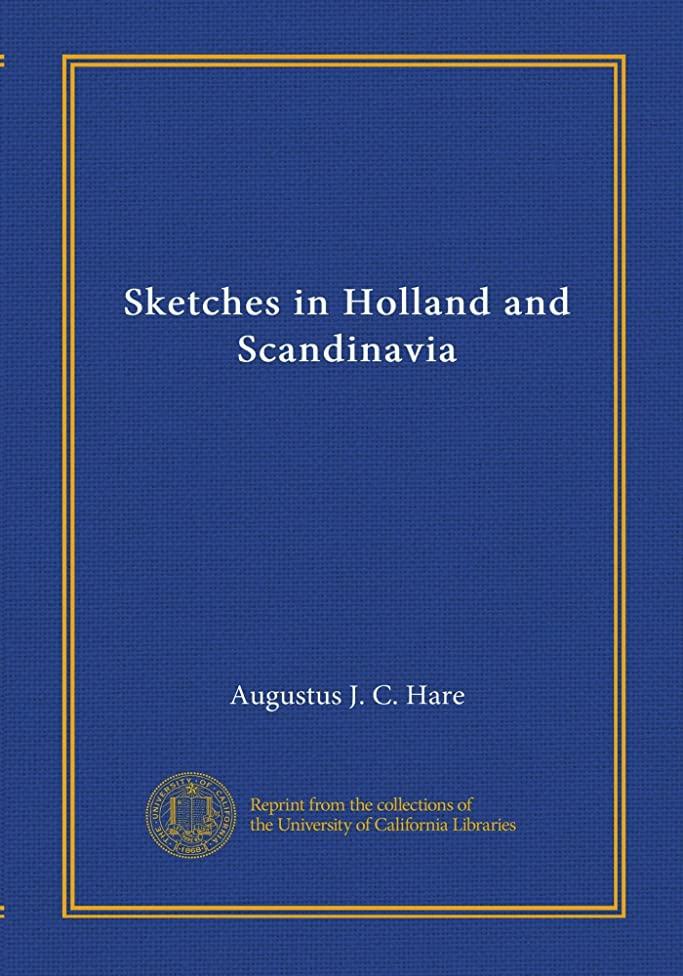 立ち向かう概念Sketches in Holland and Scandinavia
