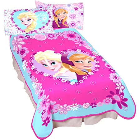 Disney Princess Ariel the Little Mermaid Blanket Micro Raschel Throw 62 x 90 Twin Full Size