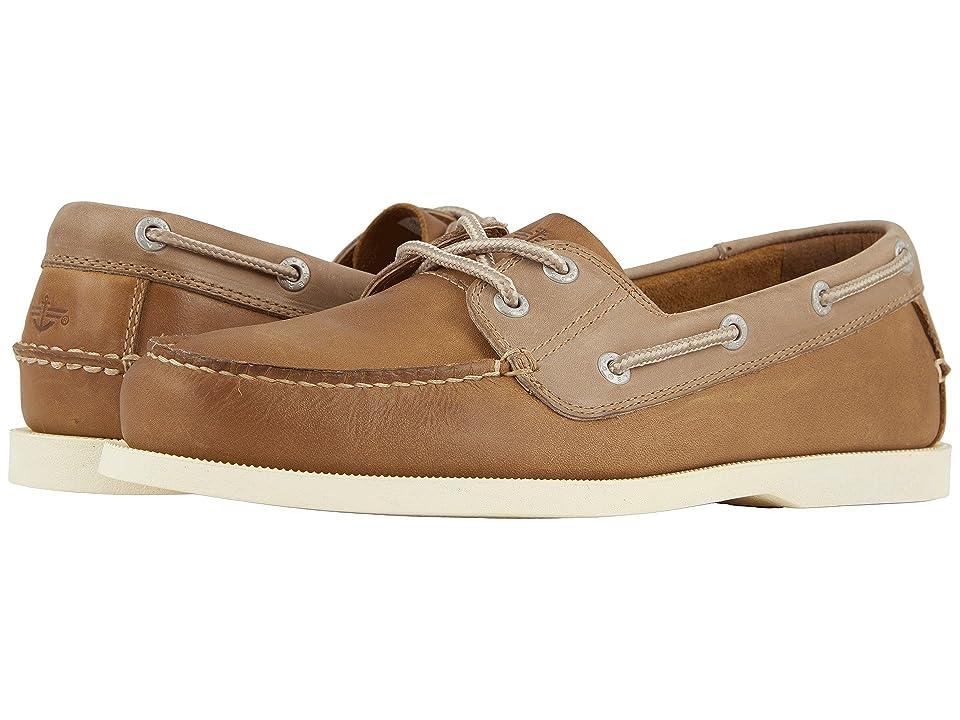 Dockers Vargas Boat Shoe (Tan Crazyhorse) Men